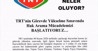 TRT Görevde Yükselme